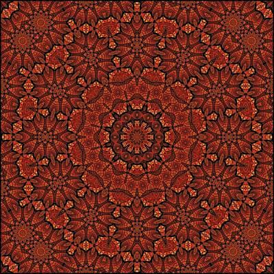 Digital Art - Fall Splendor Mandala by Doug Morgan