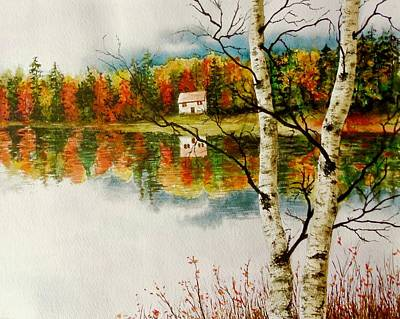 Painting - Fall Splendour by Sher Nasser