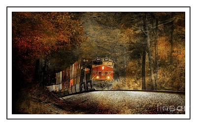 Photograph - Fall Steel by Rick Lipscomb