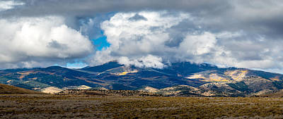 Photograph - Fall Storm Clearing Off Pintada Mountain by John Brink