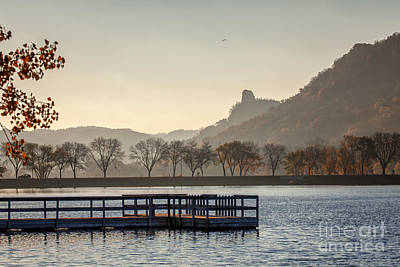 Fall Sugarloaf With Huff And Pier Art Print