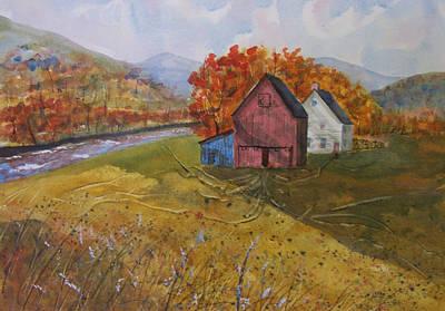 Fall Sun Art Print