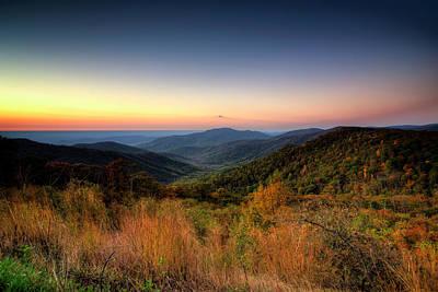 Photograph - Fall Sunrise by Ryan Wyckoff