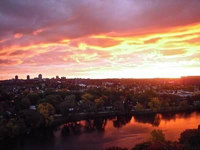 Photograph - Fall Sunrise by Stephanie Moore