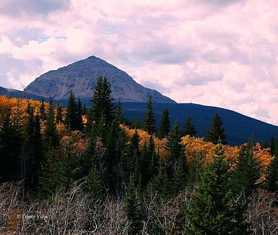 Photograph - Fall Sunset, Divide Mountain by Tracey Vivar