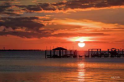 Photograph - Fall Sunset by Jody Merritt