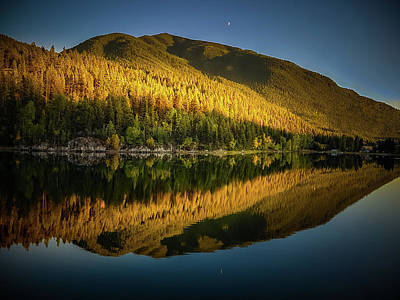 Photograph - Fall Sunset by Thomas Nay