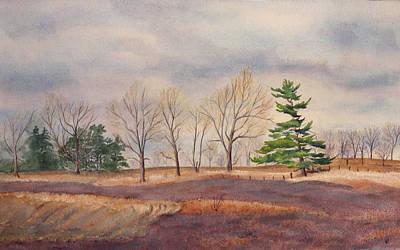 Fall Tapestry Art Print by Debbie Homewood