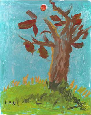 Painting - Fall Tree by Ian Reynolds
