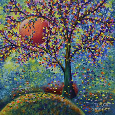 Painting - Fall Tree by Olga Hamilton