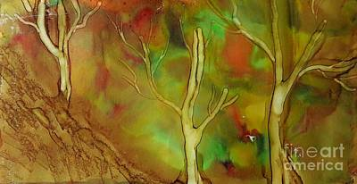 Painting - Fall Trees by Terri Mills