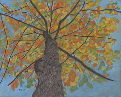 Painting - Fall Up by Arlene Crafton