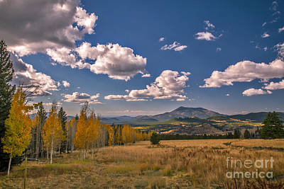 Photograph - Fall View From Snowbowl by Robert Bales