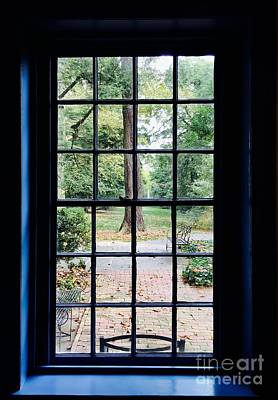 Photograph - Fall View From The Window by Jeannie Rhode