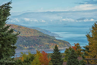 Fall View Of The St. Lawrence Art Print