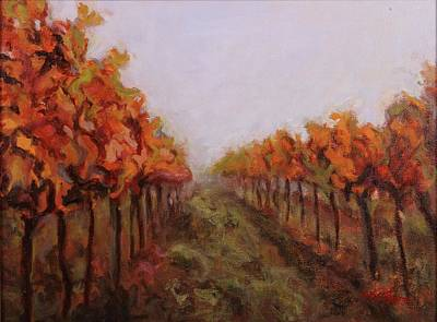 Painting - Fall Vines by Nita Burge