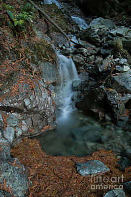 Photograph - Fall Waterfalls by Rod Wiens