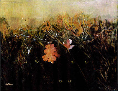 Painting - Fall Wind Across The Meadow by Seth Weaver