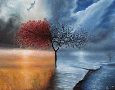 Painting - Fall / Winter by Brian Nunes