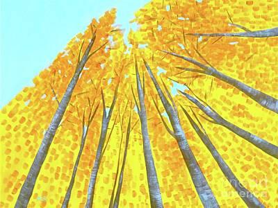 Painting - Fall by Wonju Hulse