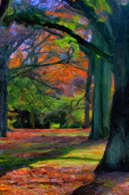 Painting - Fall Woods by Asar Studios