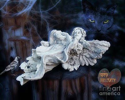 Digital Art - Fallen Angel by Gabriele Pomykaj