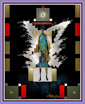 Digital Art - Fallen Angel  by Larry Talley