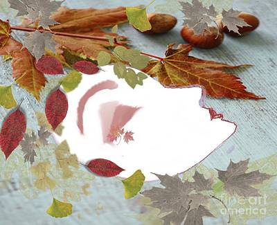 Painting - Fallen Autumn  Beauty by Belinda Threeths