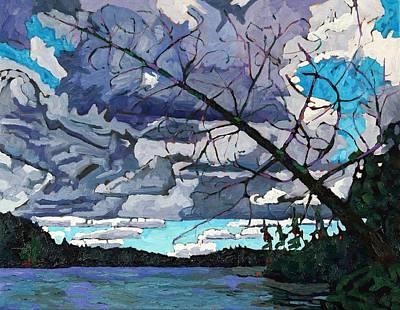 Fallen Cedar Original by Phil Chadwick