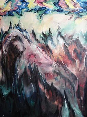 Painting - Fallen by Cheryl Pettigrew