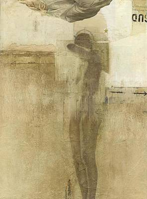 Depression Mixed Media - Fallen by Dick Allowatt