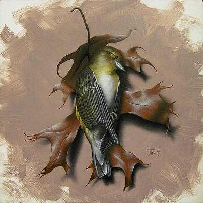 Painting - Fallen Finch by Timothy Jones