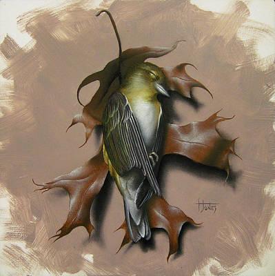 Fallen Finch Art Print by Timothy Jones