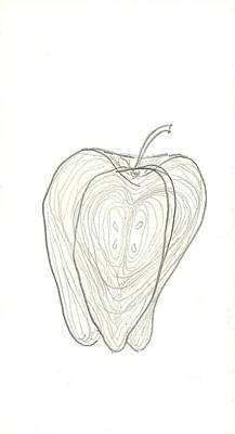 Fallen Fruits Art Print by Theresa Rawlings
