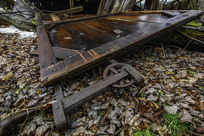 Abandoned Photograph - Fallen by George Patterson