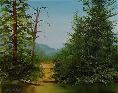 Painting - Fallen by Judy Bradley