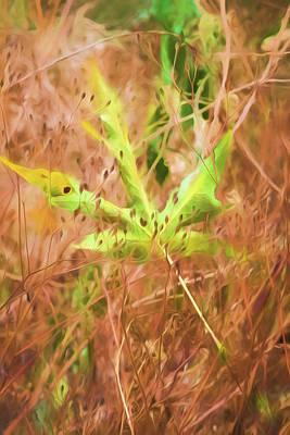 Painting - Fallen Leaf by Bonnie Bruno