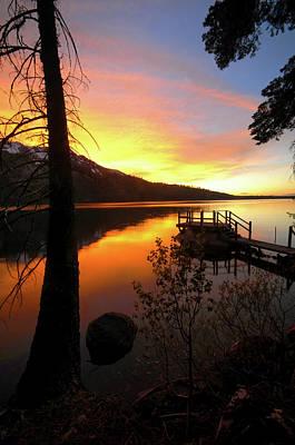 Fallen Leaf Lake Photograph - Fallen Leaf Lake by Jacek Joniec