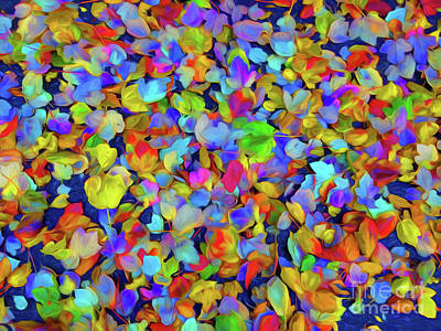 Photograph - Fallen Leaves by Kathleen K Parker