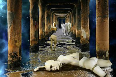 Digital Art - Fallen by Lisa Yount