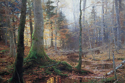 William Bliss Baker Painting - Fallen Monarchs by William Bliss Baker