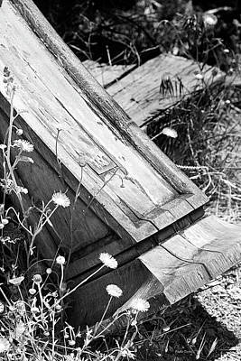 Photograph - Fallen Pillar by Phyllis Denton