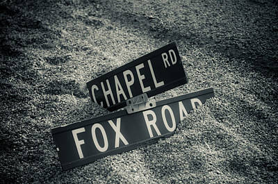 Photograph - Fallen Sign by Scott Sawyer