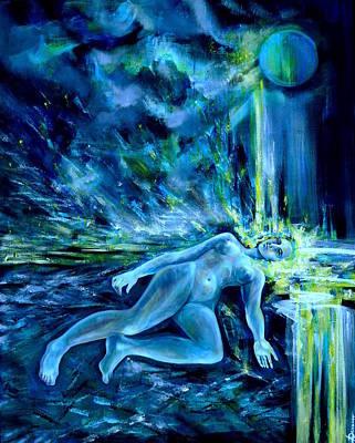 Fallen Star Art Print by Anna  Duyunova