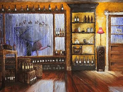 Fallin In Love At A Coffeeshop II Art Print