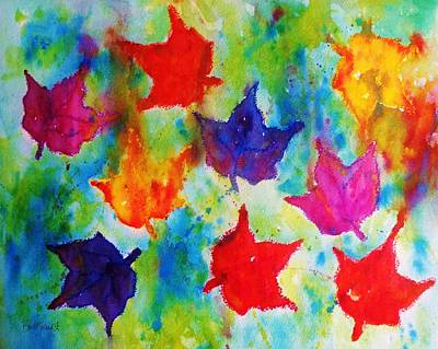 Painting - Falling by Barb Toland