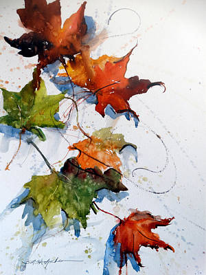 Painting - Falling Down    by Sandra Strohschein