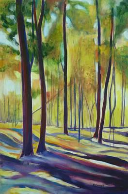 Namaste With Pixels - Falling for Autumn in Bechtel Park by Sheila Diemert