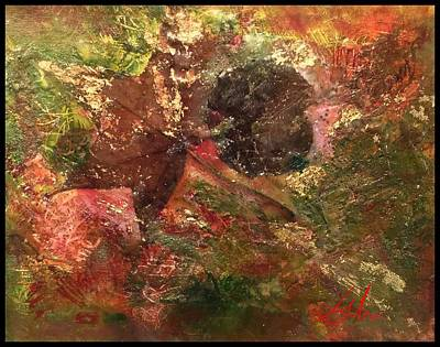 Mixed Media - Falling In Love  by Delona Seserman