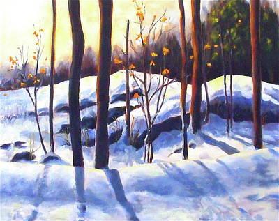 Falling Into Winter's Grip Original